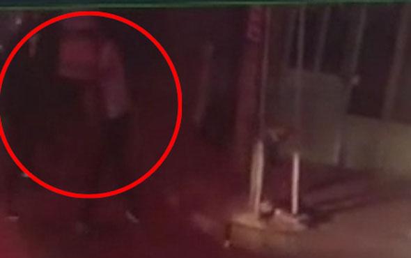 İstanbul'da cinayet anı saniye saniye kamerada