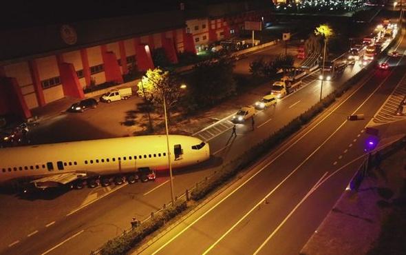 Yer Trabzon gece yarısı herkesi meraklandıran görüntü!