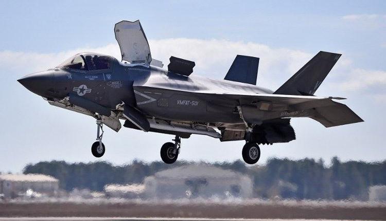 ABD'nin yeni nesil savaş uçağı F 35 ilk kez düştü!