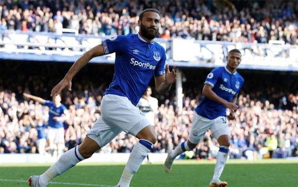 Cenk Tosun siftah yaptı: Everton kazandı!