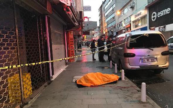 Feci ölüm! İstanbul'da 6. kattaki çatıdan düşen kişi öldü