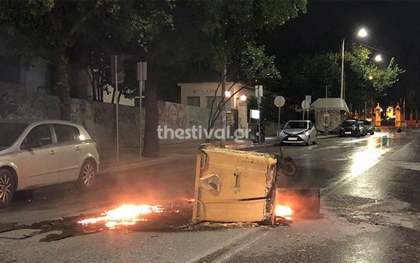 Selanik'teki Türk Başkonsolosluğu'na saldırı
