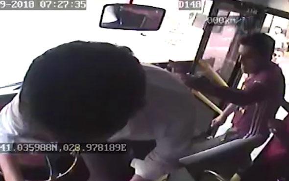 Dehşet! Otobüs şoförünü bıçaklayıp kaçtılar