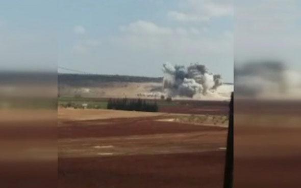 Son dakika! Rusya ve Suriye İdlib'i vurmaya başladı