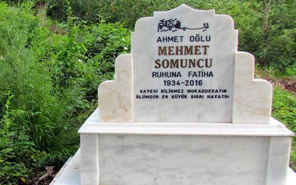 Mezar taşına '2016' yazdırdı '2018'de öldü