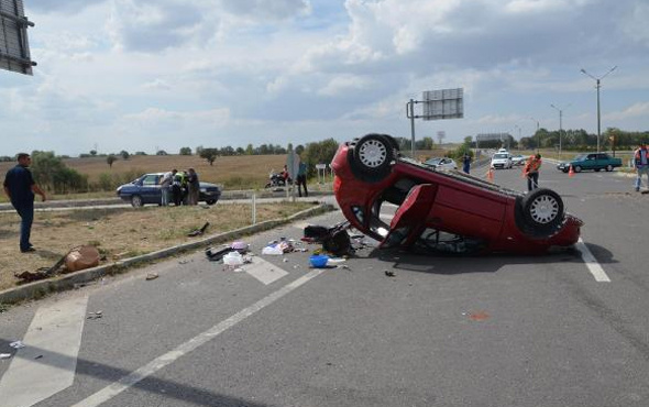 Kütahya'da zincirleme trafik kazası: 7 yaralı