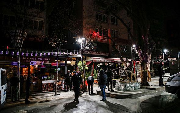 Kazak kadın Yüksel Caddesi'nde önce çığlık attı sonra 4. kattan düştü