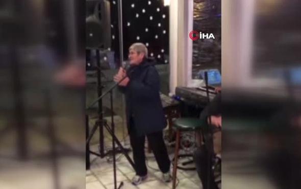 Sahneye çıkıp şarkı söyleyen Canan Karatay şaşırttı