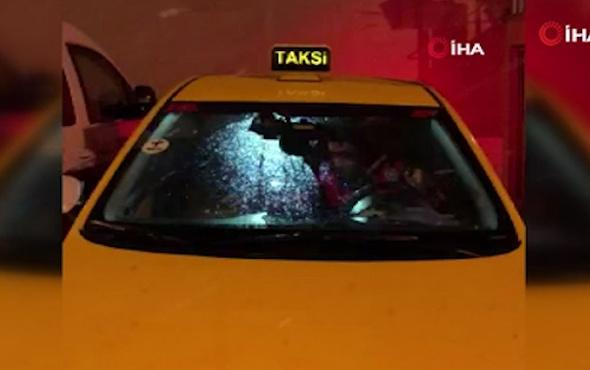 Taksideki düzenek polisi şaşkına çevirdi kumandaya basılınca