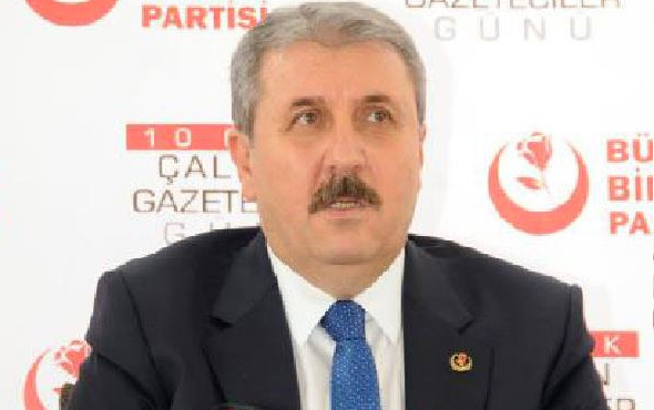 Mustafa Destici AK Parti ve MHP'ye seslendi: PKK'nın eline geçmemesi lazım