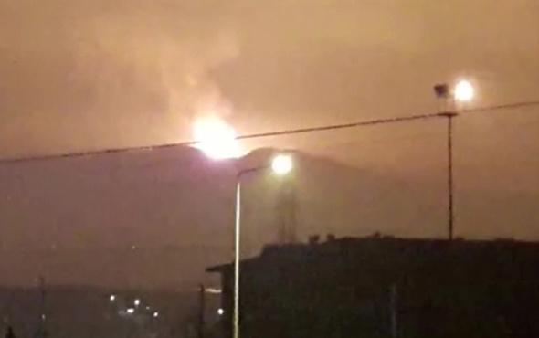 Sakarya'nın Arifiye ilçesinde büyük patlama