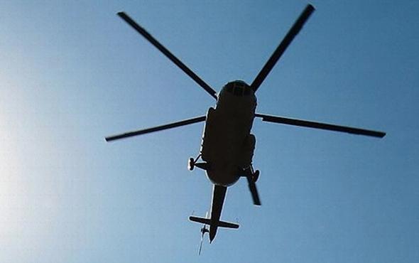 Polis helikopteri düştü: 1 ölü, 3 yaralı!