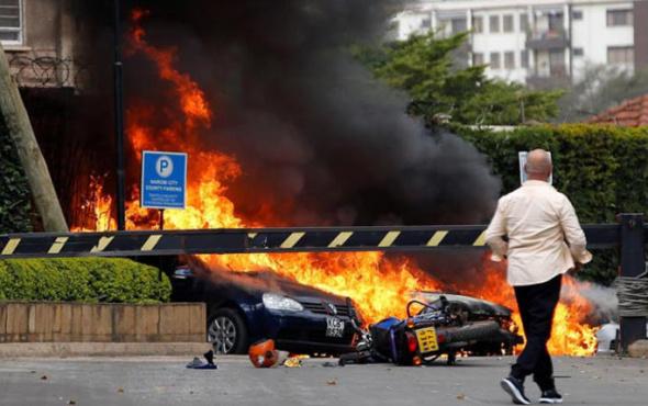 Lüks otele saldırı: Ortalık savaş alanına döndü!
