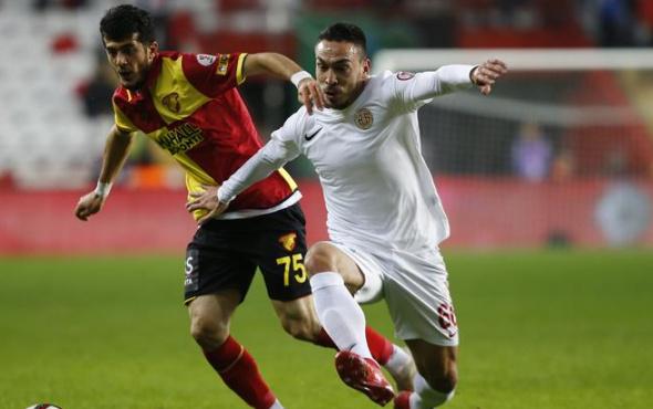 Antalyaspor ile Göztepe'den kupada gol düellosu!