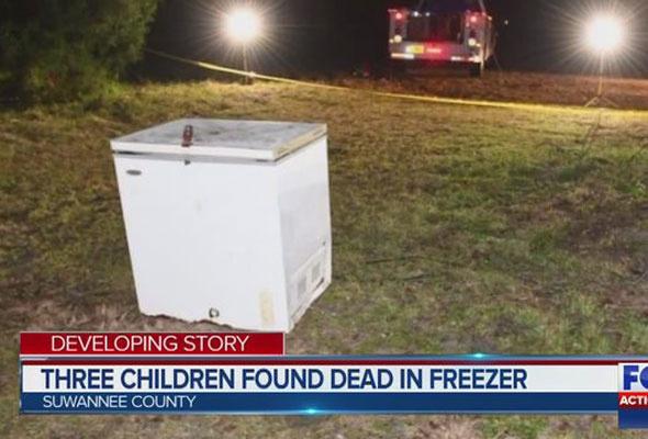 Derin dondurucuda feci ölüm 3 çocuk hayatını kaybetti