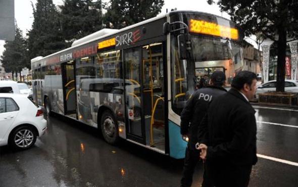 Kahramanmaraş'ta özel halk otobüsünde 'taciz' kavgası 1 yaralı