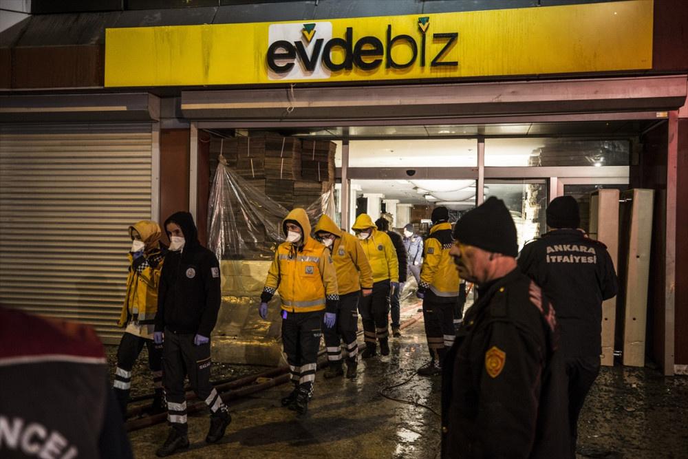 Ankara Mobilyacılar Sitesinde yangın: 5 işçi hayatını kaybetti - Sayfa 2