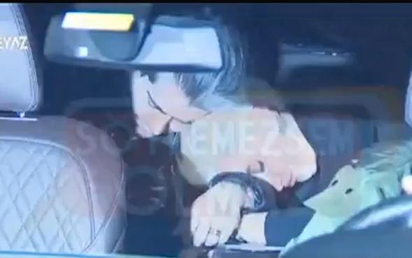 Sıla ile Hazer Amani gece yarısı arabada yakalandı!