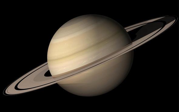 Satürn'ün milyarlarca yıl halkasız olduğu ortaya çıktı