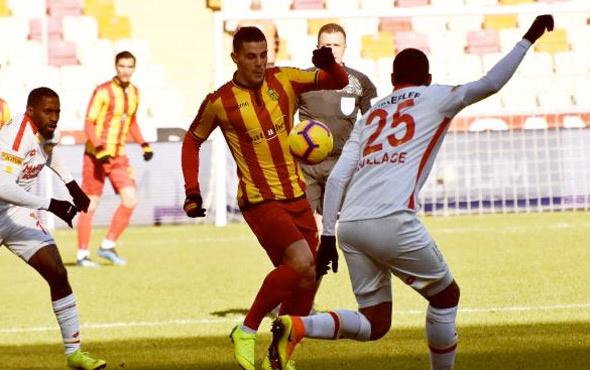 Gol düellosunu Malatyaspor kazandı