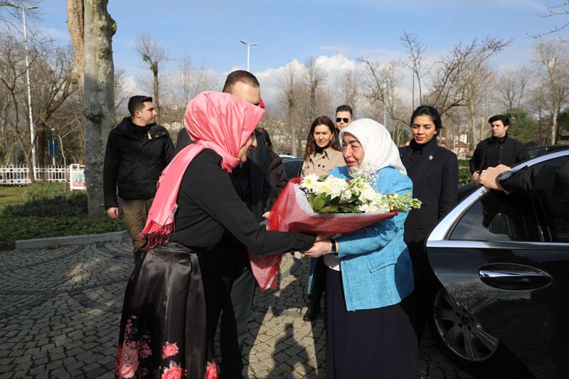 Semiha Yıldırım, Genç Kadınlar Maarifi programına Katıldı - Sayfa 2