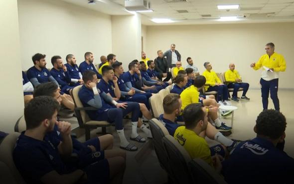 Fenerbahçe, Ersun Yanal'ın konuşmasını yayınladı