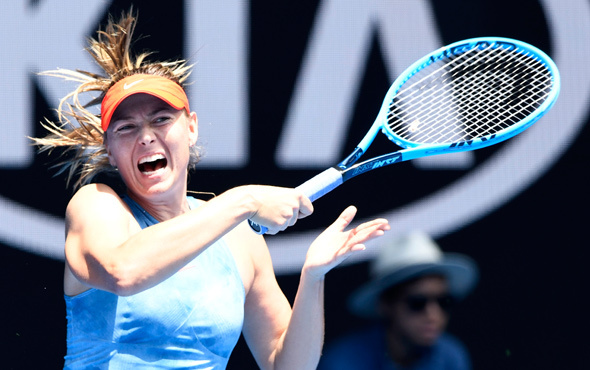 Avustralya Açık'ta Sharapova elendi
