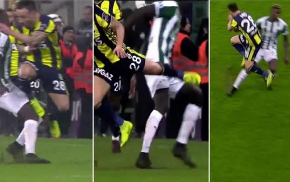 Fenerbahçelileri çıldırtan pozisyon! Valbuena'ya faul var mı yok mu?