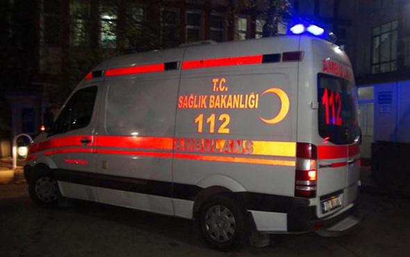 Mardin'de halk otobüsü yayalara çarptı: 1 ölü 1 yaralı