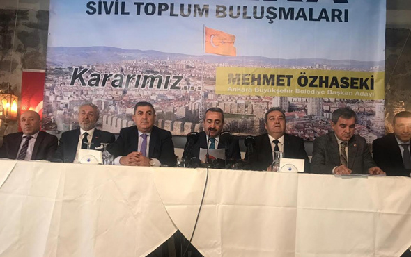 10 federasyon ve 489 dernekten Özhaseki'ye destek