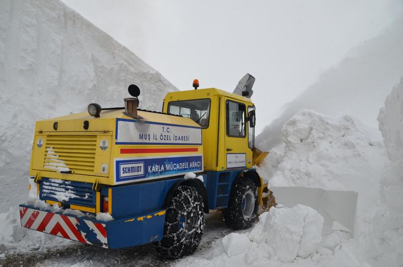 Muş'ta kar kalınlığı 10 metreye ulaştı - Sayfa 2