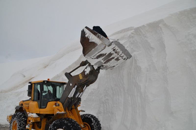 Muş'ta kar kalınlığı 10 metreye ulaştı - Sayfa 3