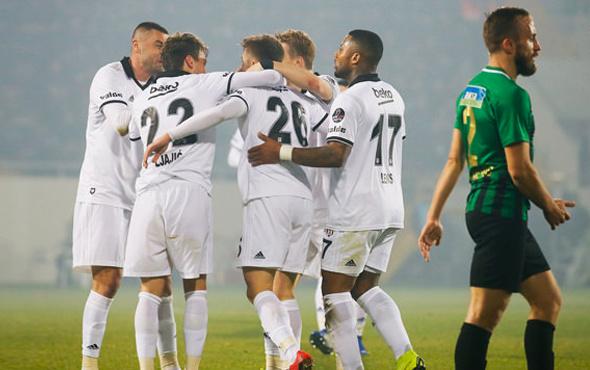 PFDK Akhisarspor'u Beşiktaş maçında 3-0 mağlup saydı