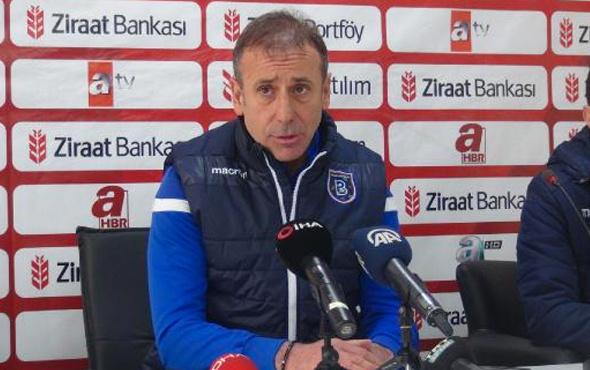 Kupadan elenen Başakşehir teknik direktörü Avcı: Bu dosyayı kapattık