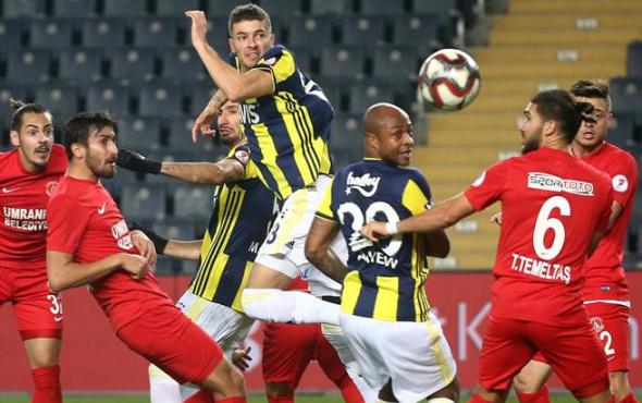 Ümraniyespor'dan Fenerbahçe'ye kupa darbesi!