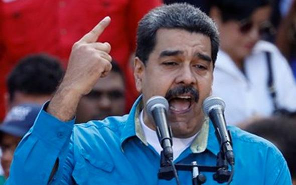 Venezuela Devlet Başkanı Maduro'dan 'kukla' çıkışı