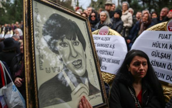 Ayşen Gruda'nın cenazesi son yolculuğuna uğurlandı