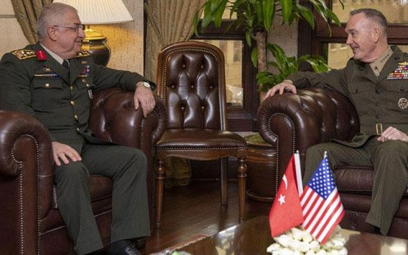 Genelkurmay Başkanı Güler'den kritik görüşme
