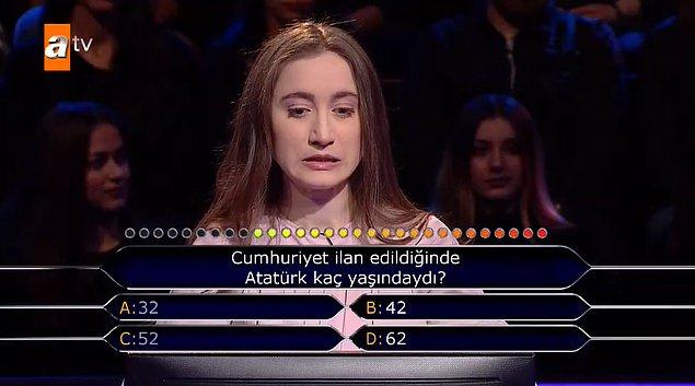 Kim Milyoner Olmak İster'de Atatürk sorusuna joker kullanan yarışmacı şoke etti - Sayfa 3