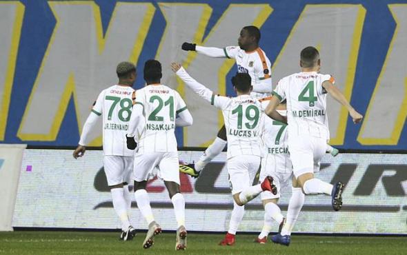 Ankaragücü yeni stadında Alanyaspor'a mağlup oldu!