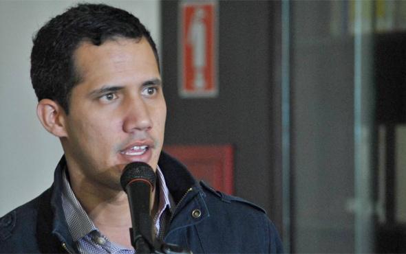 ABD Venezuela'nın yurt dışı varlıklarını Juan Guaido'ya devretti