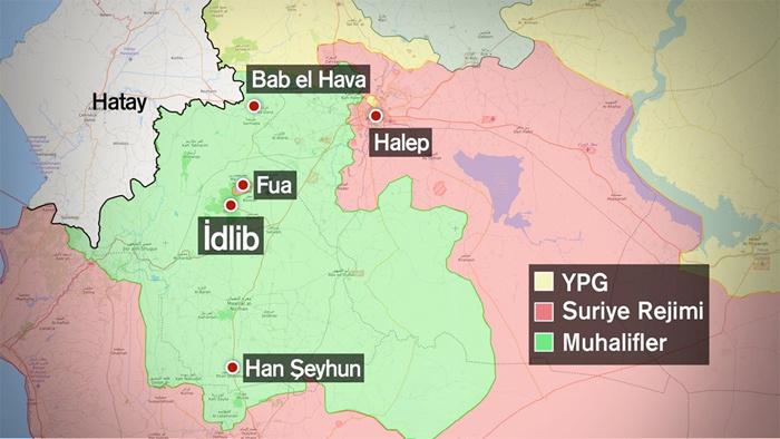 İdlib'de intihar saldırı Suriye İnsan Hakları Gözlemevi duyurdu