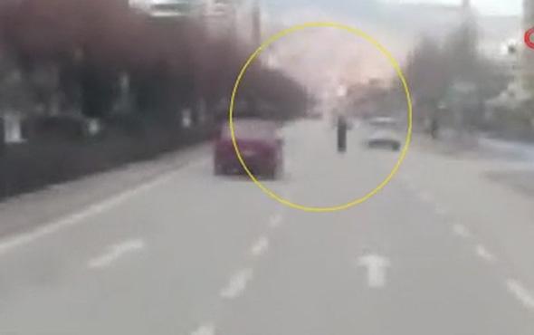 Ölümlü kazayı saniye saniye böyle kaydetti