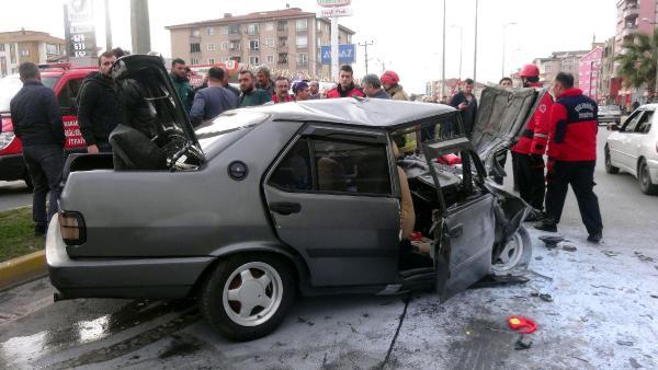 Zonguldak'taki feci kaza minik Efe'yi hayattan kopardı!