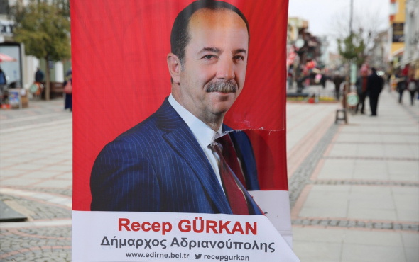 Recep Gürkan'ın 'Adrianoupolis'li yeni yıl kutlamasına tepki