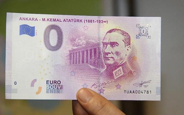 Avrupa Merkez Bankası üzerinde Atatürk bulunan para bastırmamış