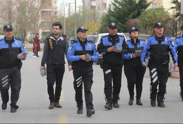 Adana'da mavi balina avı polis kapı kapı geziyor