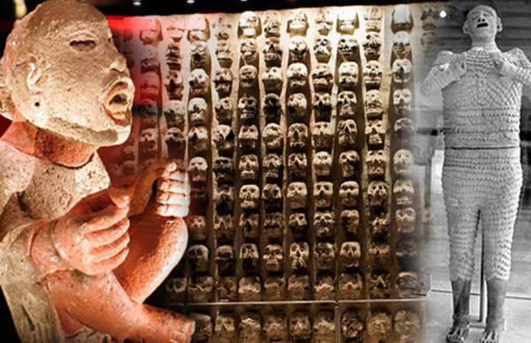 İnsanları öldürüyor derilerini giyiyorlardı! Dünya bu tapınağı konuşuyor