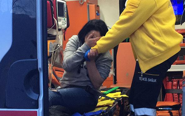 Otomobilde dehşeti yaşadı! Çığlıkları hayatını kurtardı