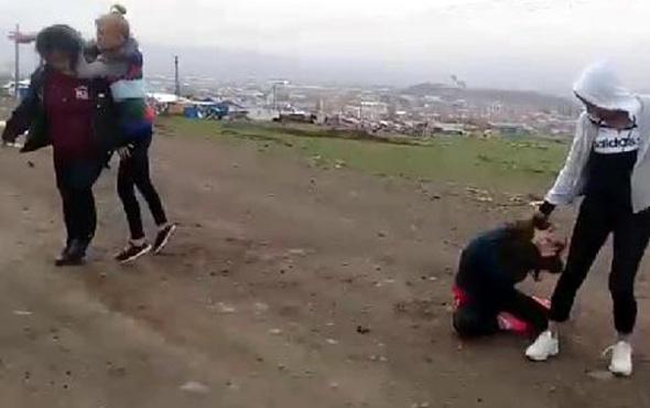 İki genç kızı dağa götürüp işkence ettiler vahşet